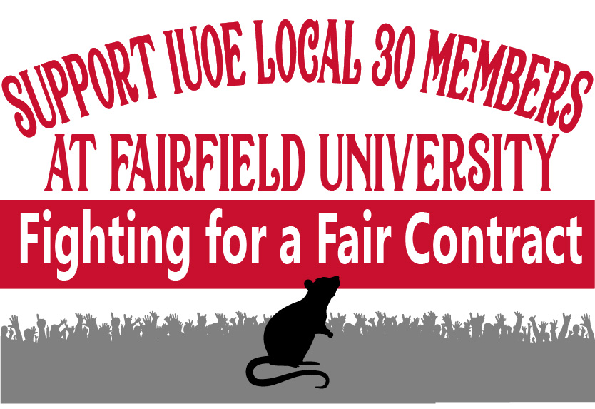 Protest At Fairfield University!