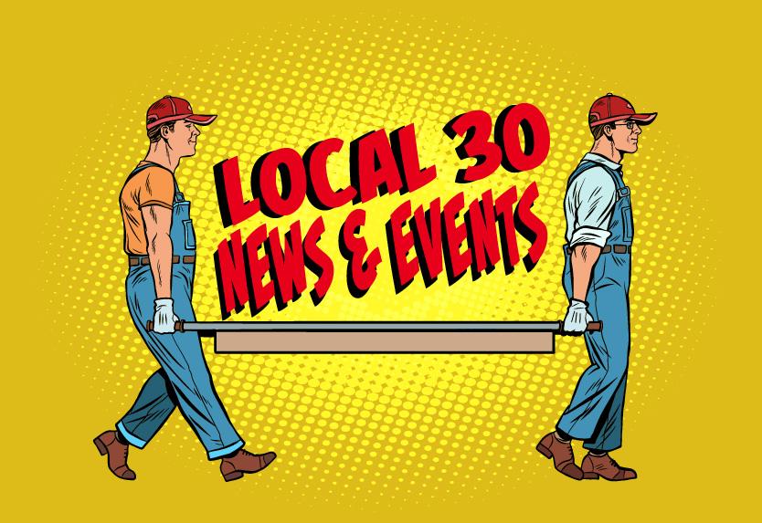 IUOE Local 30 News & Events