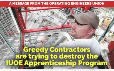 Sign the Letter to Help Save IUOE Apprenticeships